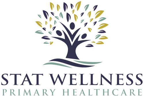 logo vertical stat wellness columbia tn